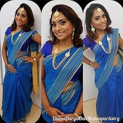 Adult Makeup, Hairdo & Indian Saree Tying image